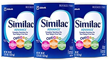 3-Pack Similac Advance Infant Formula with Iron