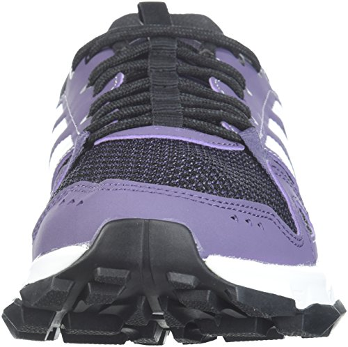 adidas Performance Women's Rockadia w Trail Running Shoe, Trace Purple/White/Core Black, 7.5 M US by adidas (Image #4)