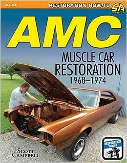 Amc Javelin Amx And Muscle Car Restoration 1968 1974 Restoration