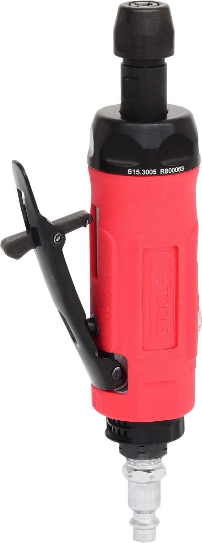 KS Tools 515.3005 Smerigliatrice ad Aria Compressa Mini, Diritta, 25.000 Giri/Min
