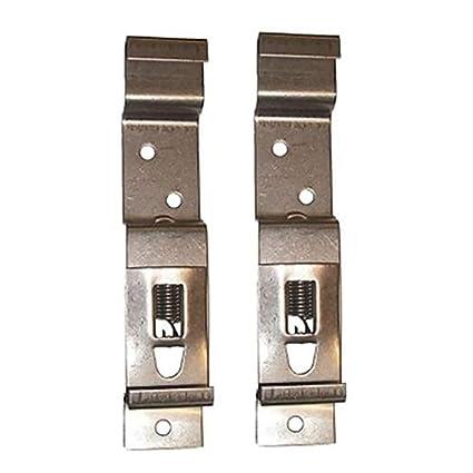 2/4/6 clips para matrícula de remolque, abrazaderas para matrícula, soporte
