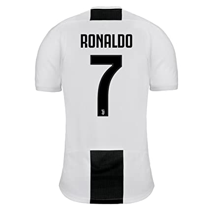 innovative design ae22b c8b96 Amazon.com : adidas Juventus Home Ronaldo 7 Jersey 2018/2019 ...
