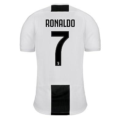 Adidas La Juventus 7 Ronaldo casa Camiseta 2018/19 - L, Blanco