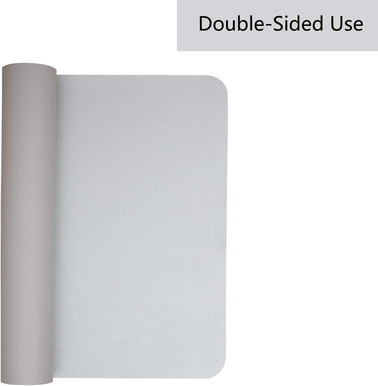 Weelth Tapis de Souris Gaming 800 * 400mm, NOIR1//ROUGE Grand Tapis de Bureau Hydror/ésistant et Double Face Anti-Glissant pour Ordinateur et Ordinateur Portable