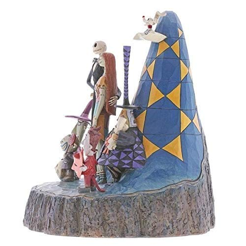 Enesco 6001287 Disney Traditions by Jim Shore Nightmare Before Christmas Carved by Heart Figurine 8'' Multicolor