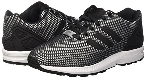 Adulte White Basses ftwr Black core Mixte Baskets Onix clear Adidas Flux Gris Zx 7ZTqn6fX