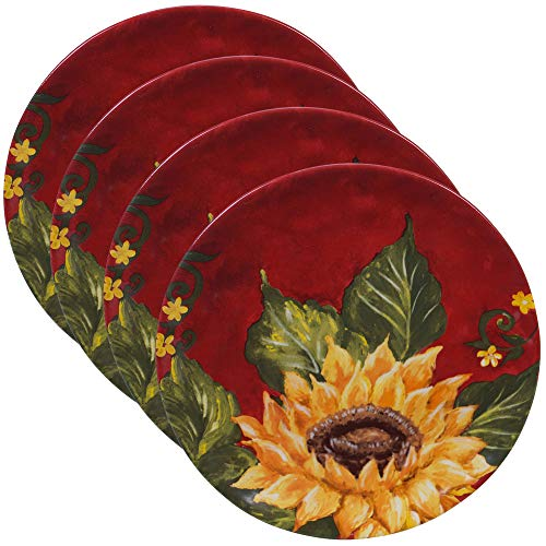 Certified International Sunset Sunflower 8.5