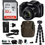 Canon PowerShot SX540 HS Digital Camera w/ 32GB SD Card & Accessory Bundle