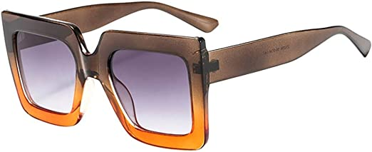 Stoota Fashion Vintage Cat Eye Big Frame Sunglasses,Retro Eyewear Fashion Ladies Man