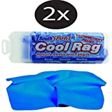 The Original Cooling Towel 2 Pack (Blue)