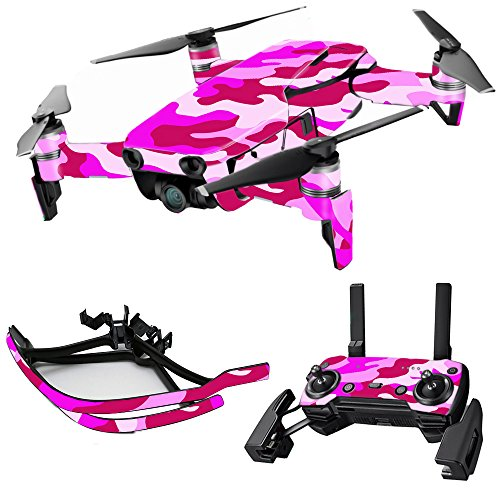 MightySkins Skin for DJI Max Coverage – Pink Camo | Protective, Durable, and Unique Vinyl Decal wrap Cover | Easy to Apply, Remove, and Change Styles | Made in The USA Review