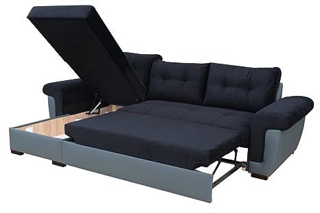 Sofá cama de esquina con gran almacenamiento: Amazon.es: Hogar
