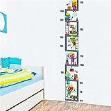 Lilliputiens Jef - medidores de altura para niños (Multicolor ...