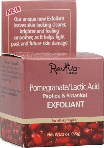 Labs Pomegranate - Reviva Labs Pomegranate Lactic Acid Exfoliant -- 2 oz - 2pc