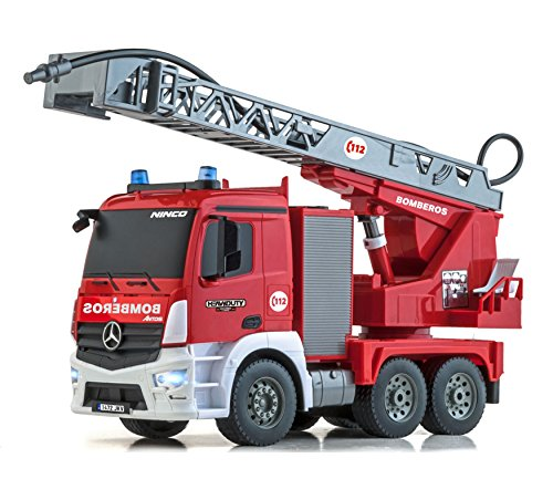 Heavy Duty 2.4Ghz Interference Free Remote Control Fire Truck