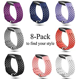 X4-Tech Charge 3 Bands - These bands fit my Fitbit perfect