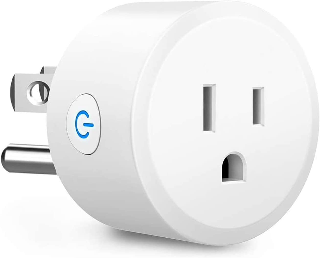 Zigbee Smart Plugs, Smart Outlets Work with Amazon Echo Plus Hub, SmartThings, Zigbee HA Hub, Alexa Home Assistant, Voice Phone Remote Control Plugs, Timer Function (Hub Required)