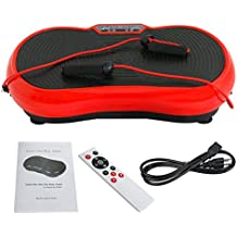 ZENY Fitness Vibration Platform Massage Machine Vibration Massager Whole Full Body Shape Exercise Machine,Vibration Plate Platform ,Fit Massage Workout Trainer with Two Bands & Remote
