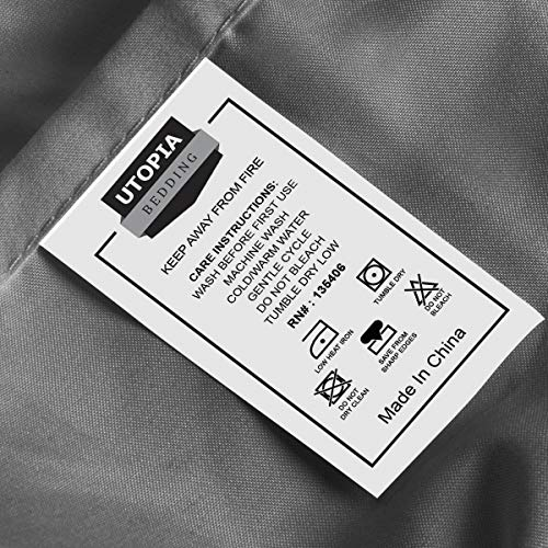 Utopia Bedding 4 Piece Queen Bed layer Pillowcase Sets