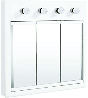 Design House 532382 30 Inch Concord Ready To Assemble 4 Light Medicine  Cabinet