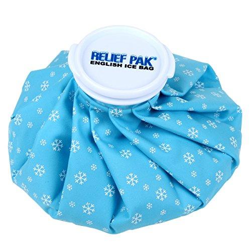 Refillable Bag (Relief Pak English Ice Cap Reusable Ice Bag, 9