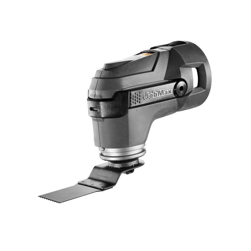 RIDGID JobMax 18-Volt Tool-Free Multi-Tool Head Tool Only -R8223406B