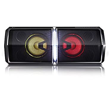 LG FH6 Loudr Speaker System with Bluetooth, Dance Lighting and Effects Creator