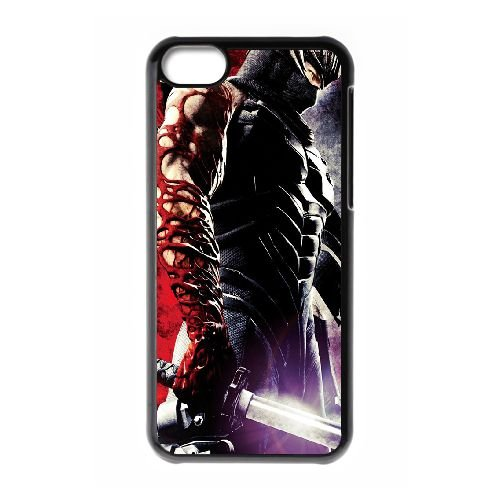 Ninja Gaiden DJ37KL3 coque iPhone Téléphone cellulaire 5c cas coque D4OF7I1WM