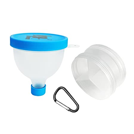 Fill N Go FunnelProtein Powder Funnel Water Bottle Funnel