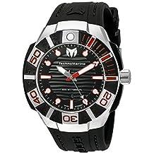 Technomarine TM-515010 Men's 'Black Reef' Swiss Quartz Stainless Steel Casual Watch