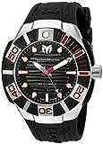 Technomarine Men's 'Black Reef' Swiss Quartz Stainless Steel Casual Watch (Model: TM-515010)