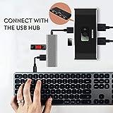 USB Switcher Hub, 2 Computers Sharing 4 USB 2.0