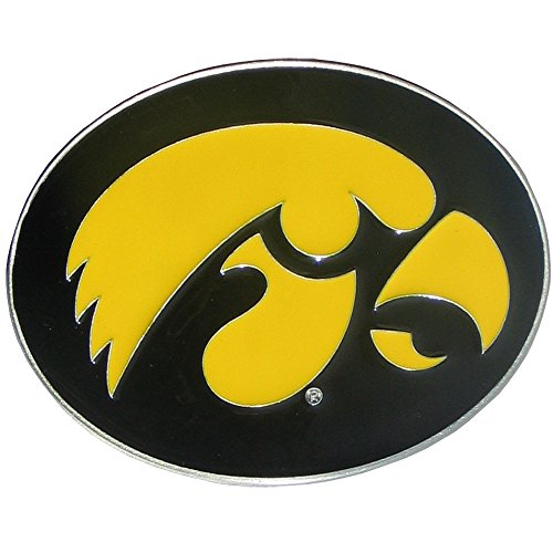Iowa Hawkeyes Logo Belt Buckle (Hawkeye Belt)