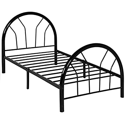 Best Choice Products Metal Bed Frame Set w/Headboard and Footboard, Twin