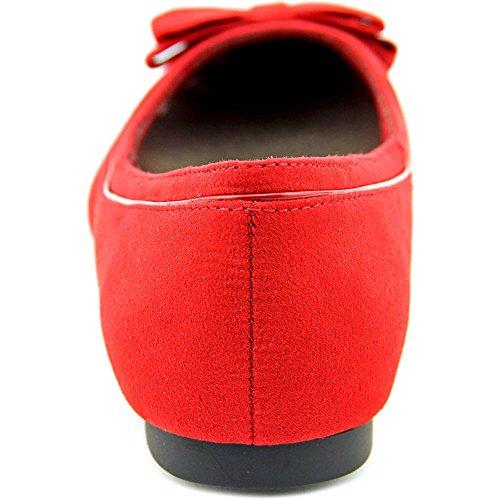 Karen Scott Chandii Women Red Ballet Flats XJbiHZs