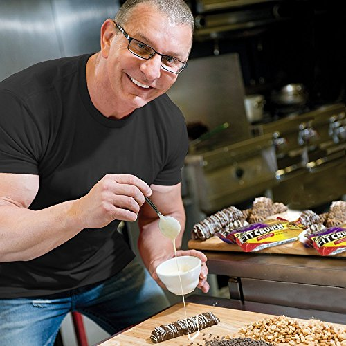 Fitcrunch Snack Size Protein Bars | Designed By Robert Irvine | World's Only 6-layer Baked Bar | Just 3g Of Sugar & Soft Cake Core (18 Snack Size Bars + Fc Protein Included, Chocolate Peanut Butter)