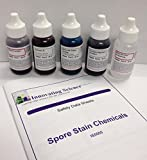 Spore Stain Checmicals Slide Staining Kit