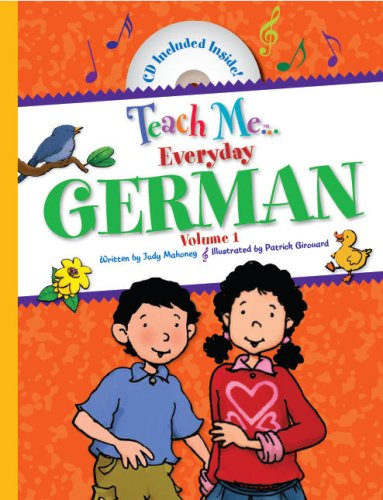 Teach Me Everyday German (Teach Me Series) (English and German Edition)