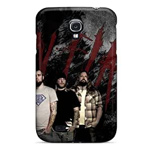 TimeaJoyce Samsung Galaxy S4 Durable Hard Phone Case Support Personal Customs High-definition In Flames Band Pattern [kee10927Nqfq]
