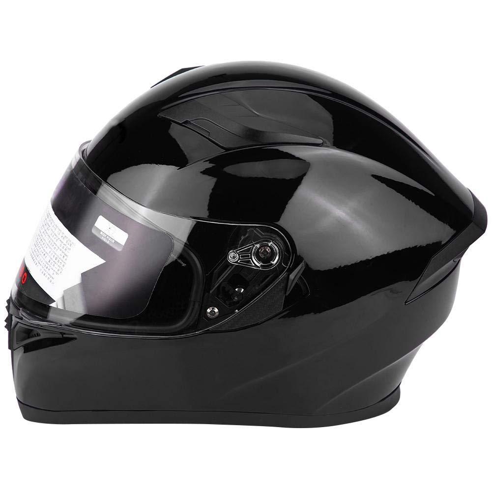 EBTOOLS ABS Klapphelme,Doppellinse Flip-Up-Helme,Schlag Motorrad Motorradhelm f/ür Rennwagen Hel Ganzes Gesicht XLL