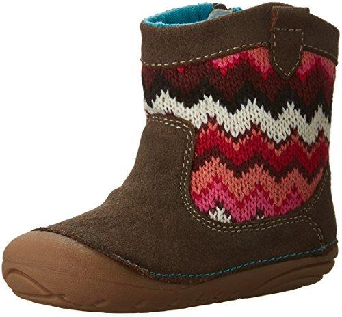 Stride Rite Soft Motion Quinn Boot (Infant/Toddler), Brown, 3 M US Infant
