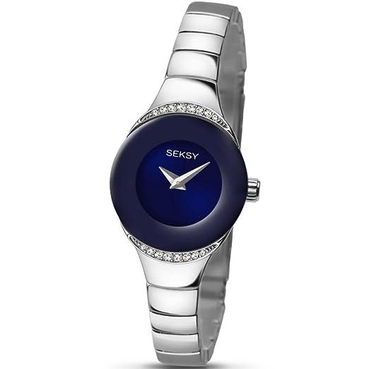 d2e30d4bcbb SEKONDA Womens Analogue Classic Quartz Watch with Brass Strap 2294.37   Amazon.co.uk  Watches