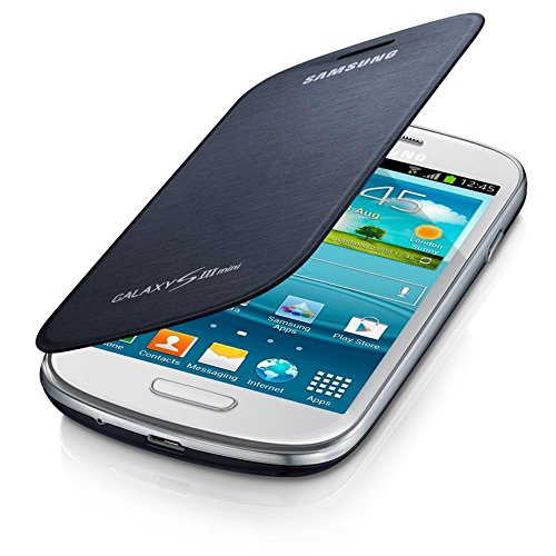 Cheap Cases, Holsters & Clips Samsung SM-EFC-1M7FBEGSTD Flip Cover for Samsung Galaxy S3 Mini - Retail Packaging..