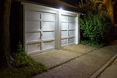 UL-listed Dual Head LED Outdoor Security Light, Motion Activated+Dusk to Dawn, 4 Modes Area Lighting, 20W (150W Equivalent), ENERGY STAR, 5000K Daylight, Exterior Floodlight for Entryways, Yard by LEONLITE (Image #8)