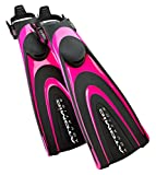 Atomic Aquatics Blade Fin for Scuba Diving and Snorkeling Fin, Small, Pink