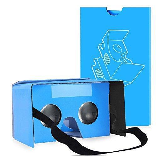161 opinioni per QPAU Google Cardboard 3D Realtà Virtuale Kit Occhiali fai da te compatibile con