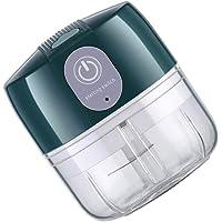 Yarnow Mini espremedor de alho elétrico para alho não precisa descascar alho espremedor de utensílios de cozinha verde…