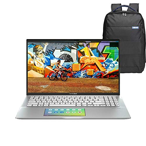ASUS VivoBook S14 14″ Full HD Gaming Laptop Intel Core i7-10510U, 8GB RAM, 1TB SSD, Backlit Keyboard, GeForce MX250 2GB, Windows 10 Home, Screen Pad, Backpack, Silver – S432FL-EB152T