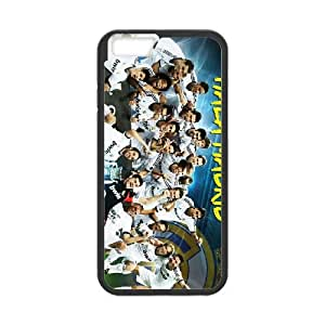 iPhone 6 Plus 5.5 Inch Cell Phone Case Black Real Madrid Clear Phone Case Personalized XPDSUNTR35066