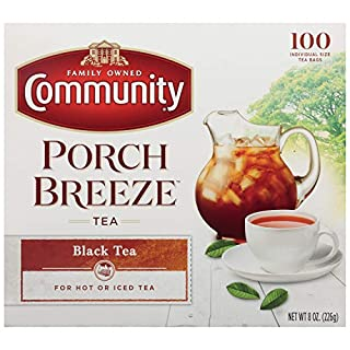 Community Coffee Black Tea Bags, Individual Size (Pack Of 12), 100Count